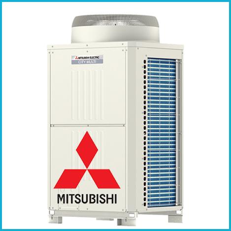 VRF системы Mitsubishi